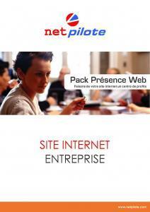Pack Présence Web Entreprise