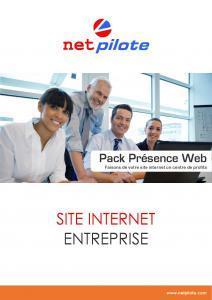 Présentation du Pack Présence Web NetPilote